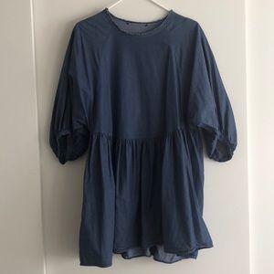 Zara denim tunic/dress